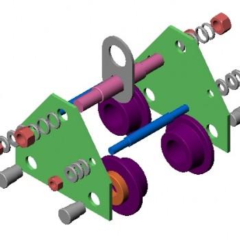 Carro de traslación a empuje 1/2 Tn a 5 Tn.